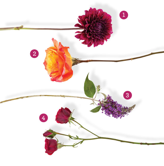 summber-bouquet-elements