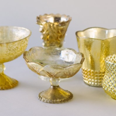 Gold Mercury Vessels