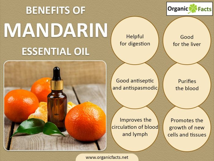 Health Benefits Of Mandarin Essential Oil Organic Facts