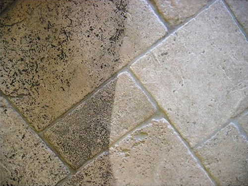 tile and grout organic home service