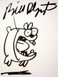 Bill Plympton Autograph & Sketch