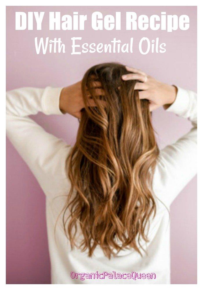 All natural hair gel recipe