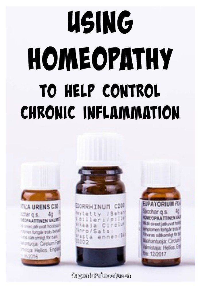 Homeopathic treatments for inflammation