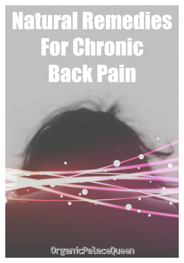 Natural relief for chronic back pain