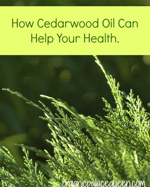 Cedarwood Oil For Health
