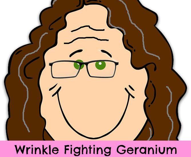 geranium oil and wrinkles