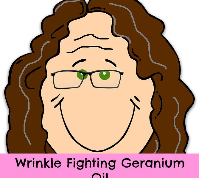 Geranium Oil and Wrinkles
