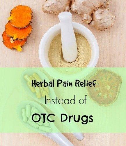 best herbal pain relievers