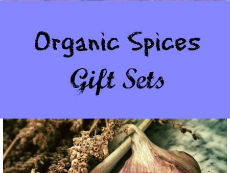 organic spices gift sets