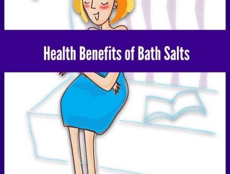 health benefits of bath salts