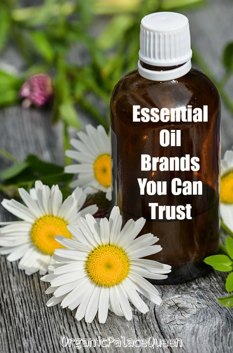 Essential oil brands you can trust