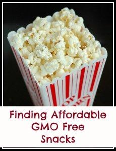 GMO free snack foods