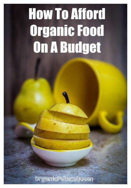 How can I afford organic food
