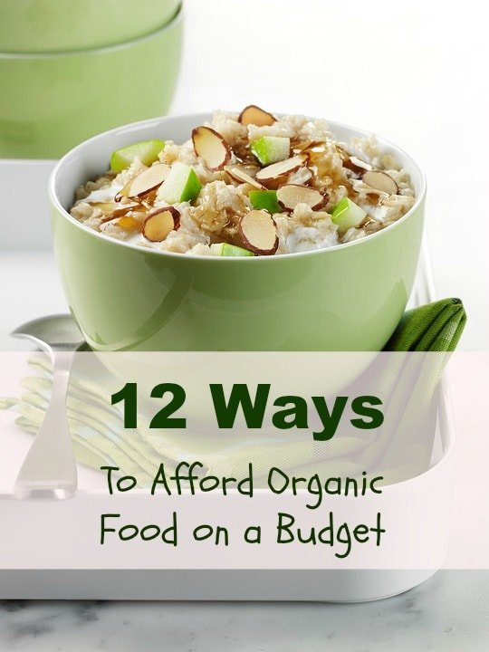 how to afford organic food on a budget