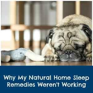 what home remedies can help me sleep