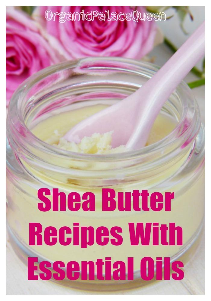 Body butter recipe using essential oils
