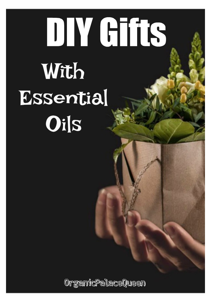DIY gifts with essential oils