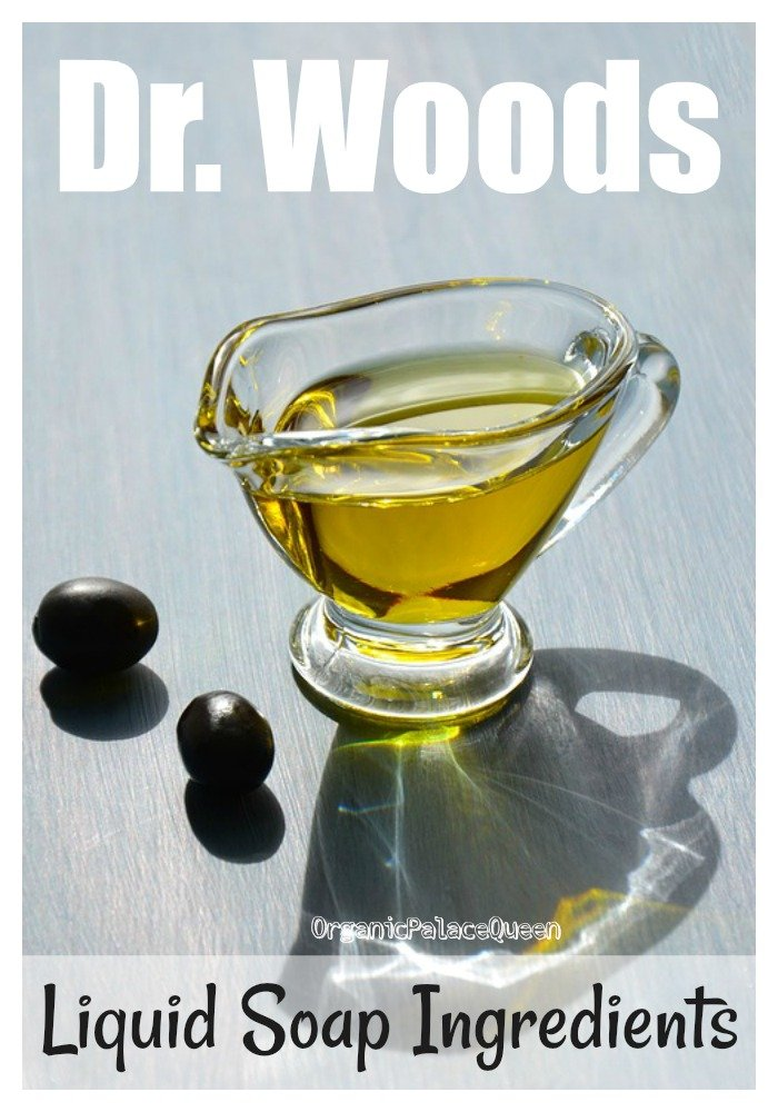 Dr. Woods liquid soap ingredients