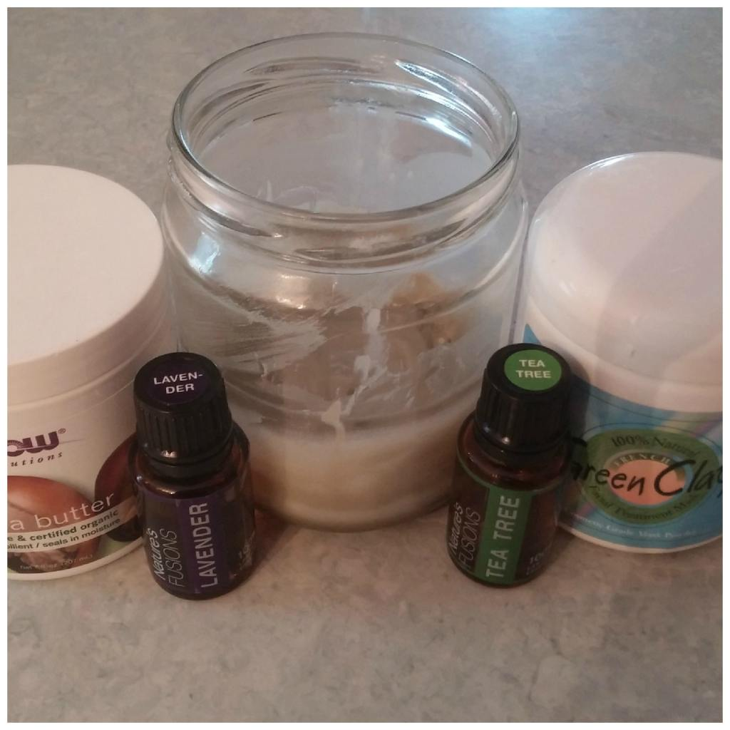 natural deodorant recipe with clay