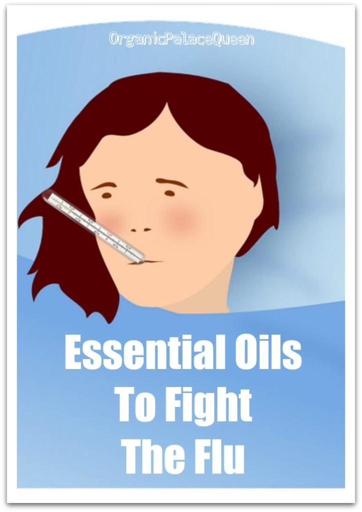 Essential oils for the flu