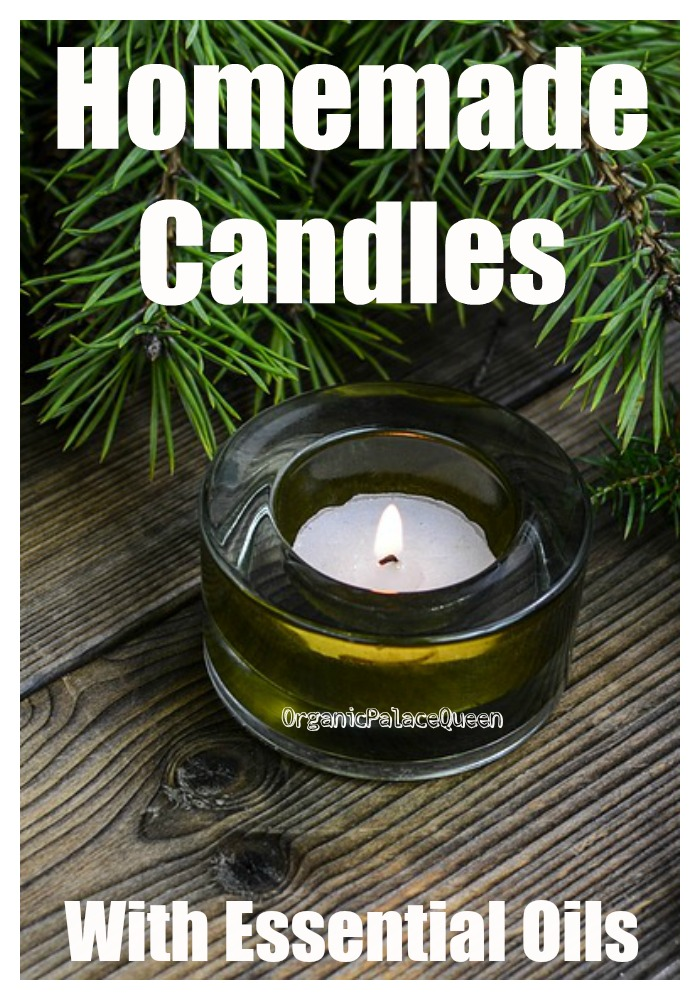 How to make scented candles with essential oils