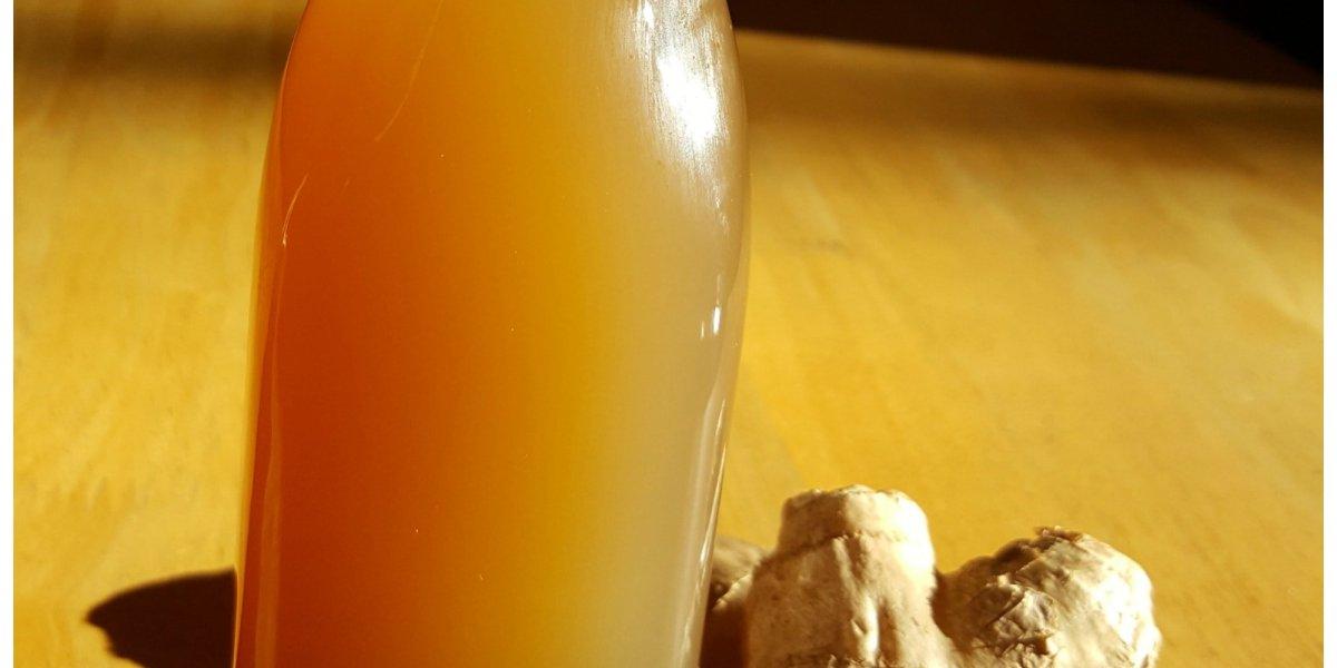 DIY Ginger Syrup Medicinal Recipe