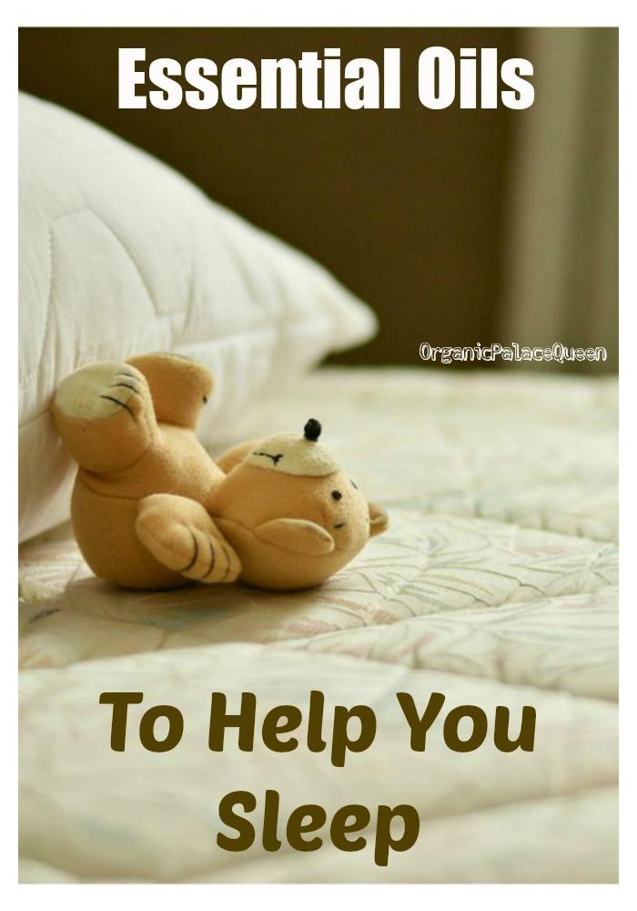 Essential oils for sleep deprivation