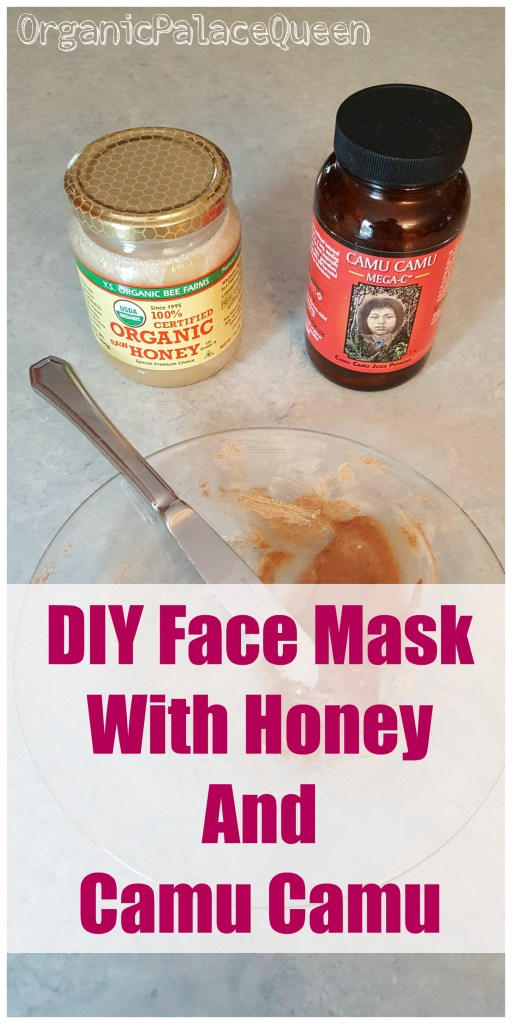 DIY face mask with camu camu