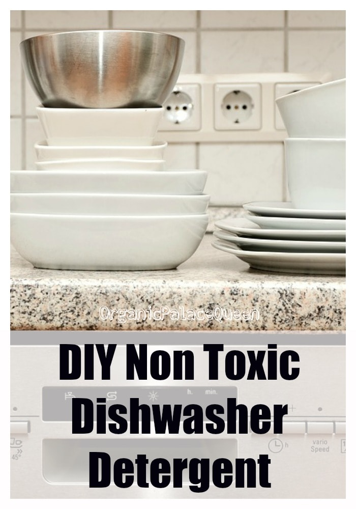 Non toxic dishwasher detergent recipe with essential oils