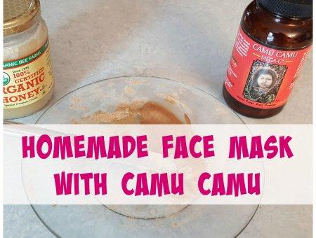 DIY Camu Camu Face Mask