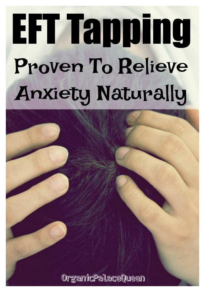 Tapping to relieve anxiety