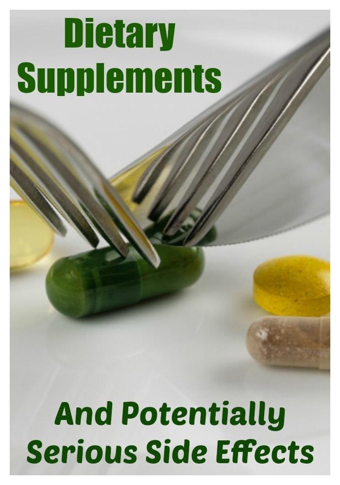 Dangers of herbal supplements
