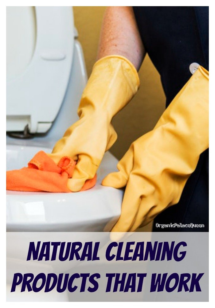 Environmentally safe cleaning products for the home