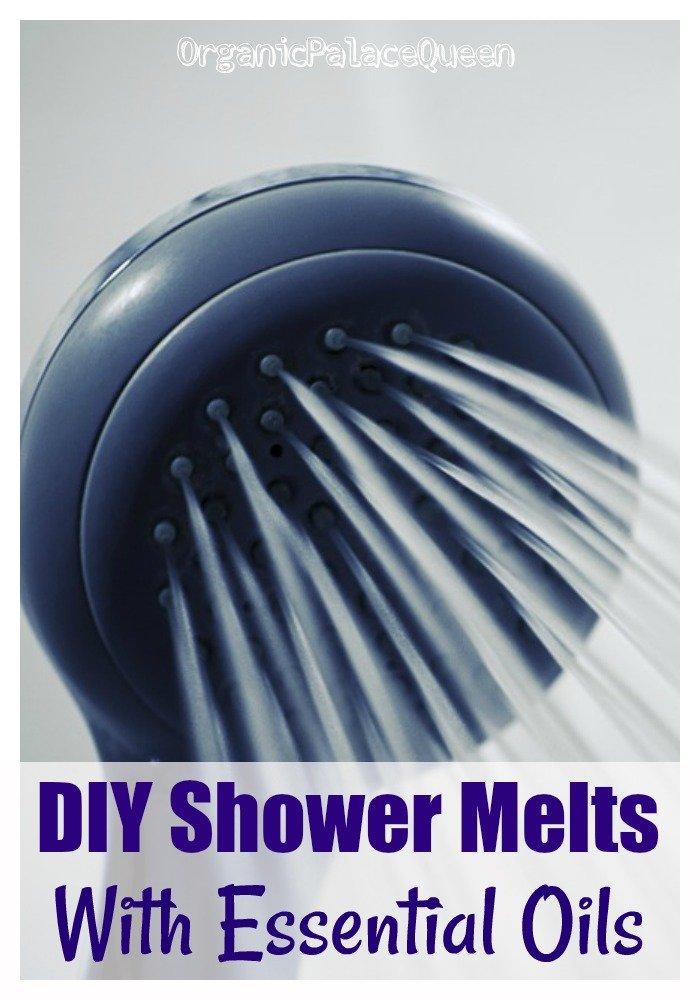 DIY shower melt recipe with essential oils
