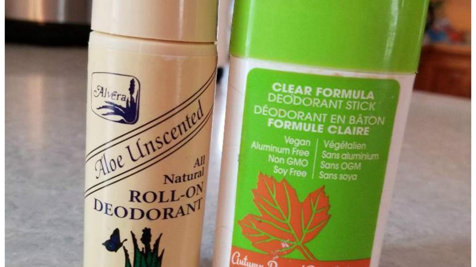 Why you only want to use natural deodorant