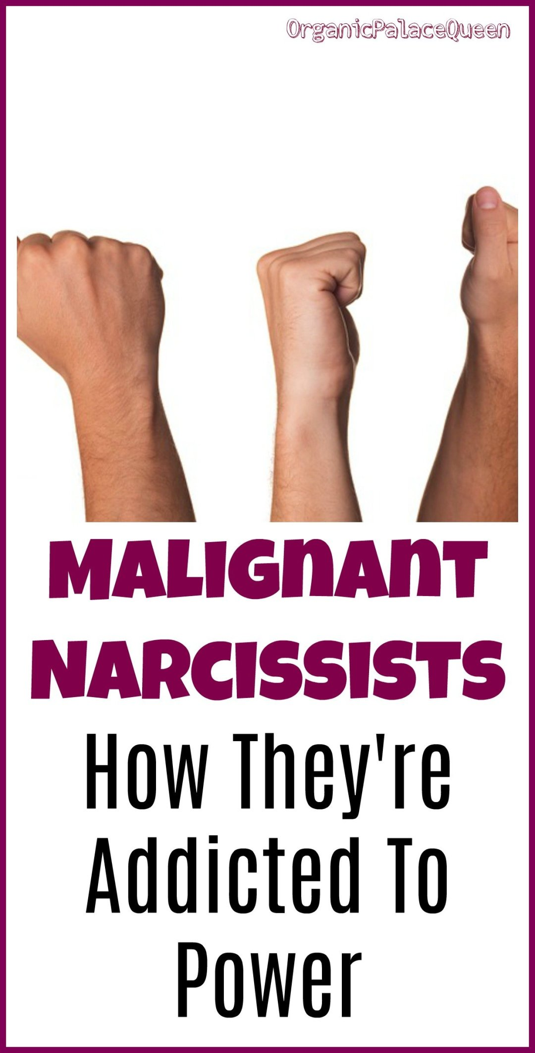 How narcissists are addicted to power