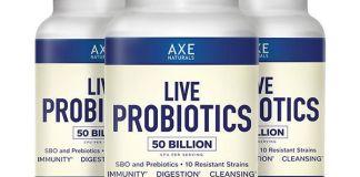 Axe Naturals Live Probiotics