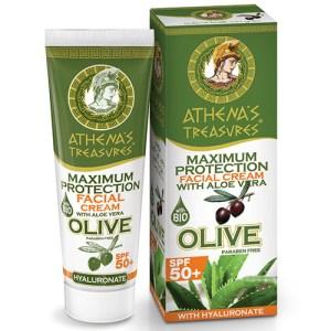 Maximum Protection Facial Cream Aloe Vera SPF 50+ 50ml