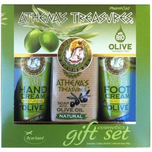 Gift Set Mini 23 (Hand Cream Natural & Foot Cream Tea Tree Oil 60ml & Soap 100gr)