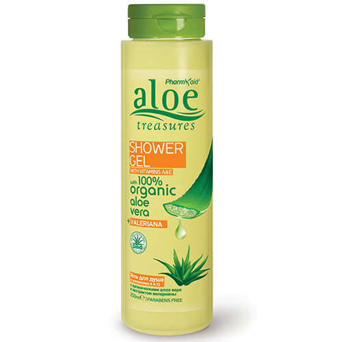 Shower Gel Valeriana 250ml