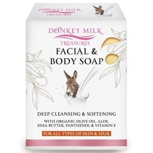 Donkey Milk Treasures Face body soap
