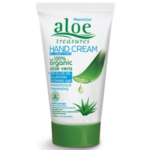 Aloe Treasures Hand Cream Oliveoil 120ml