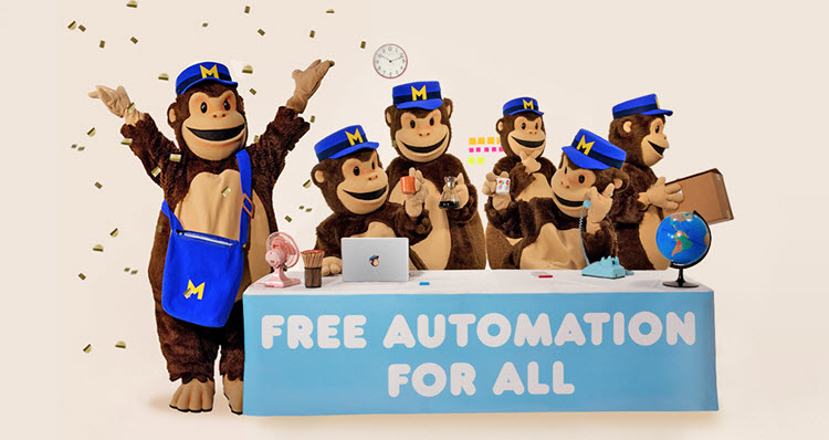 Even free MailChimp accounts now get free access to email Automation