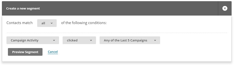 How to use segments for Mailchimp remarketing