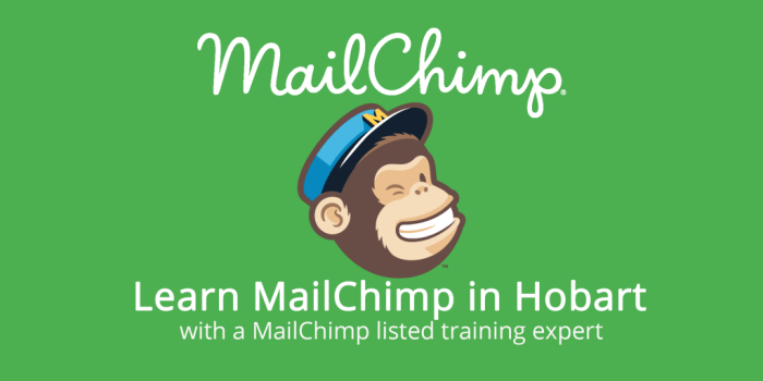 Learn to use MailChimp in Hobart, Tasmania.