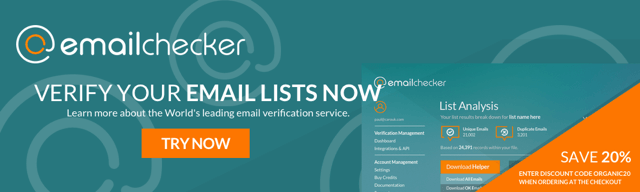 Get a discount on email validation and verification