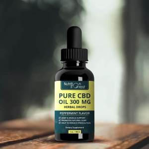 cbd oil bottle