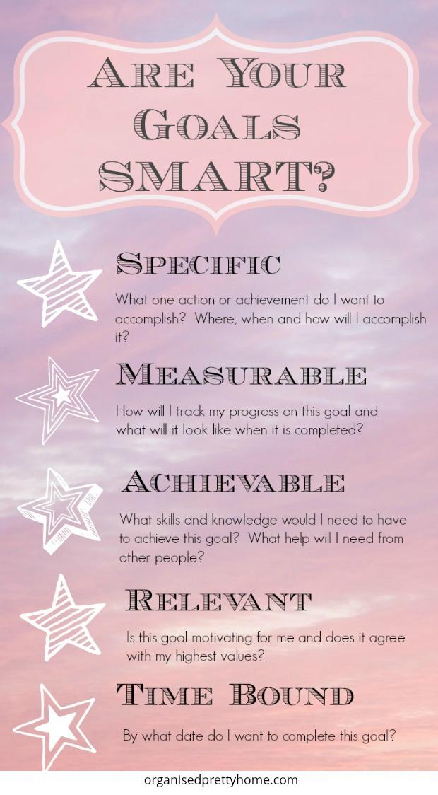 achieve personal goals SMART goals