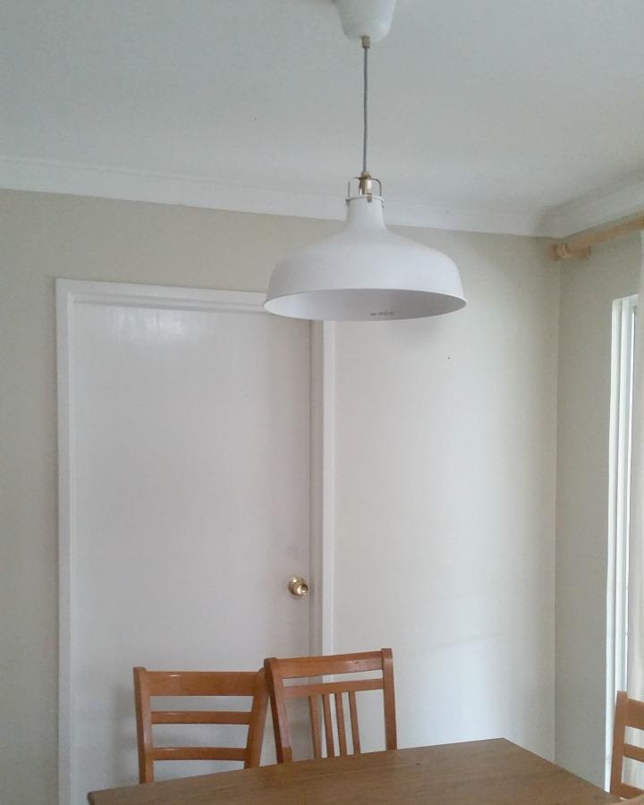 Kitchen renovation Ideas Industrial style pendant light from Ikea