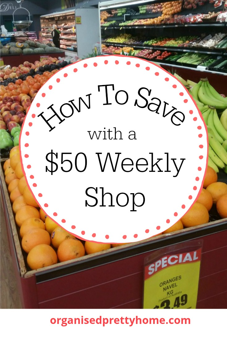 how to save with a 50 weekly shop